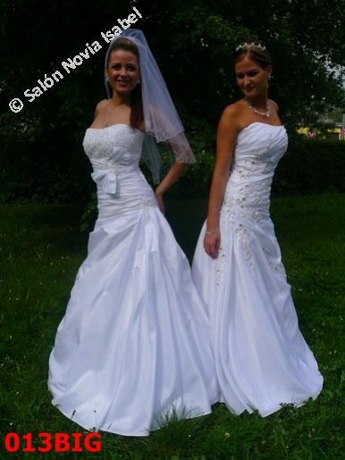 Svadobné šaty - Svadobný salón Bratislava - Novia Isabel a90330dd0d0